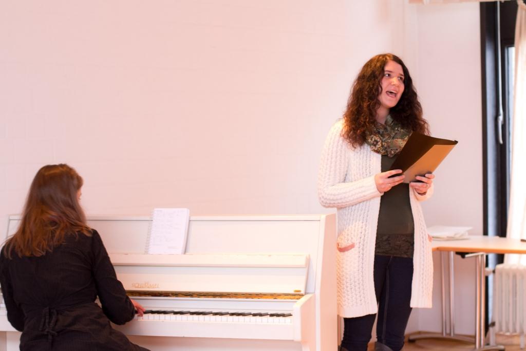 Gesangsunterricht in Detmold