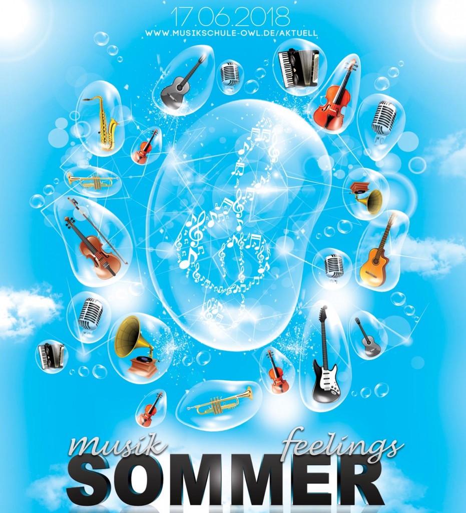Sommer Vorspiel der GlasHaus Musikschule in Detmold