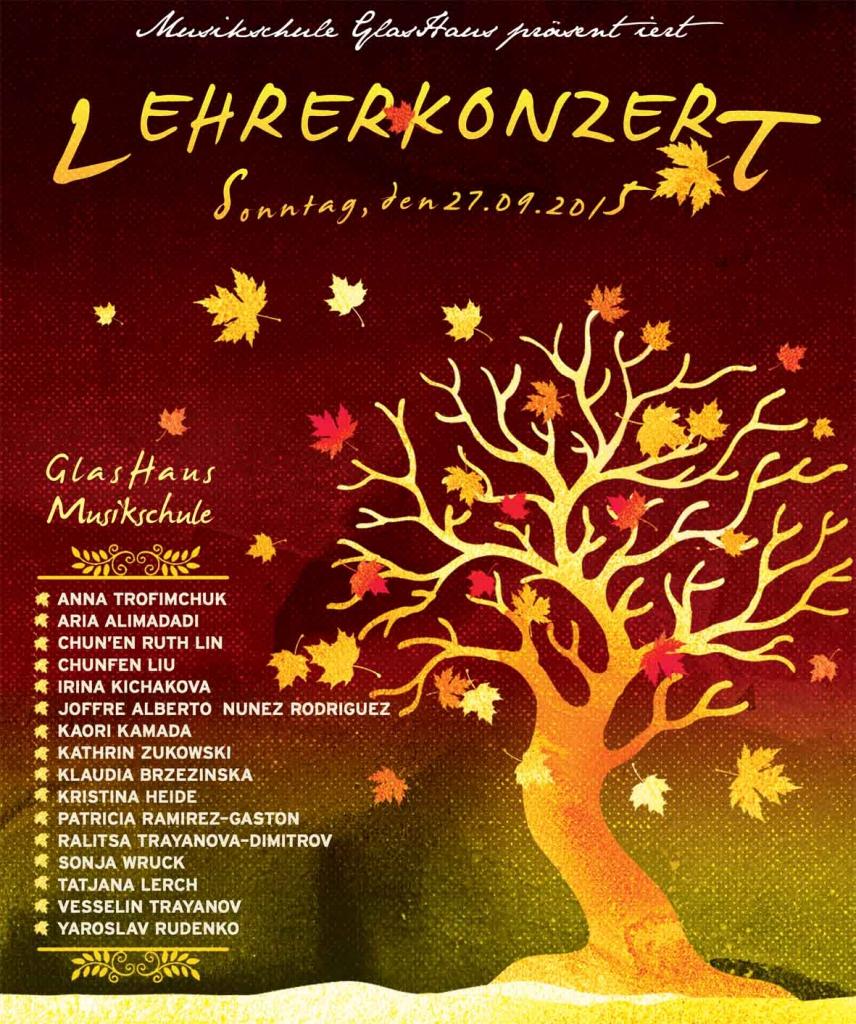 Musikschule GlasHaus - Lehrerkonzert Detmold 2015