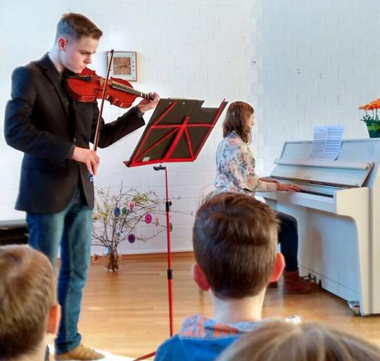 Geigenunterricht in Detmold